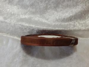 10mm Organza Ribbon - Brown