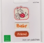 Iron On Patch Bug Baby Friend