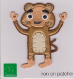 Iron On Patch Monkey