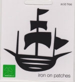 Iron On Patch Pirate Ship