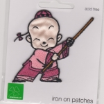 Iron On Patch Shaolin Boy