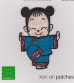 Iron On Patch Shaolin Girl 1