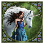 Anne Stokes Tile - Enchanted Pool