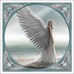 Anne Stokes Tile - Spirit Guide