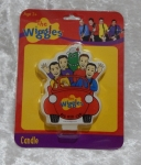 Novelty Wiggles Flat Candle