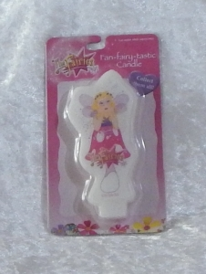 Novelty Fairies Flat Candle - Harmony