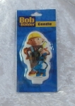 Novelty Bob the Builder Flat Candle - Cat
