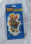 Novelty Bob the Builder Flat Candle - Alien
