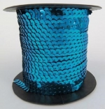 Sequin String Blue approx. 45m Roll