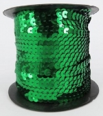 Sequin String Green approx. 45m Roll