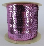 Sequin String Pink approx. 45m Roll