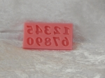 Silicone Mould - Numbers