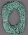 1mm Pine Green Metallic Round Leather Thonging