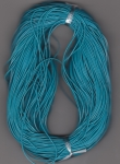 1mm Dodger Blue Round Leather Thonging