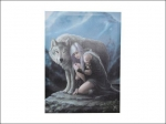 Anne Stokes Canvas 40 x 30cm - Protector