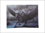 Anne Stokes Canvas 40 x 30cm - Realm Of Darkness