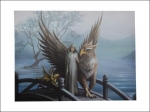 Anne Stokes Canvas 40 x 30cm - Realm Of Tranquility