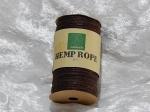 Hemp Cord/Rope 50m Brown 1mm