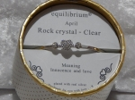 Equilibrium Bangle Birthstone - April