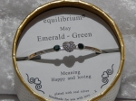 Equilibrium Bangle Birthstone - May