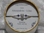 Equilibrium Bangle Birthstone - June
