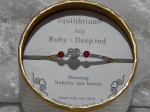 Equilibrium Bangle Birthstone - July
