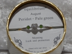 Equilibrium Bangle Birthstone - August
