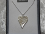 Equilibrium Necklace Mother of Pearl - Heart *CLEARANCE COST PRICE ONLY*