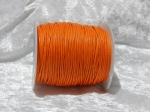 1.5mm Orange Waxed Cotton