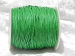 1.5mm Emerald Waxed Cotton