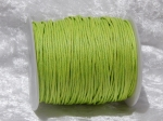 1.5mm Lime Waxed Cotton