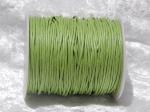 1.5mm Light Green Waxed Cotton