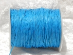 1.5mm Turquoise Waxed Cotton
