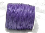 1.5mm Dark Purple Waxed Cotton