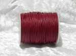 1.5mm Wine Red Waxed Cotton