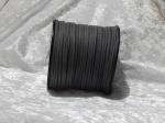 Faux Suede Cord Flat 3mm Dark Grey Full Roll