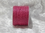 1mm Rose Waxed Cotton Roll