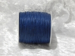 1mm Dark Blue Waxed Cotton