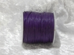 1mm Dark Purple Waxed Cotton