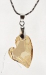 Swarovski Elements Devoted To You Necklace Golden Shadow