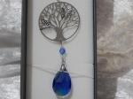 Equilibrium Suncatcher Tree of Life Blue
