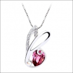 Crystal Ice Necklace with Swarovski Elements Rose 10025 **CLEARANCE COST PRICE ONLY**