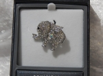 Equilibrium Glamour Brooch - Silver Elephant