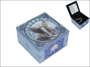 Anne Stokes Box with Mirror - Realm of Tranquility 10cm x 10cm