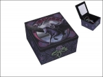 Anne Stokes Box with Mirror - Realm of Darkness 10cm x 10cm