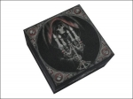 Anne Stokes Box with Mirror - Candelabra 10cm x 10cm