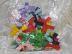 Satin Ribbon Adhesive Bows Pack 50