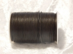 2mm Dark Brown Indian Leather Thonging 100m Roll