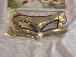 Eye Mask Cat with Sequins Silver