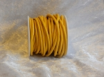 3mm Leather Thonging Yellow